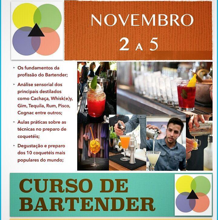 Folder curso bartender